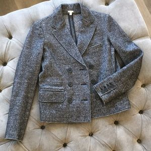 J. Crew double face wool cotton jacket